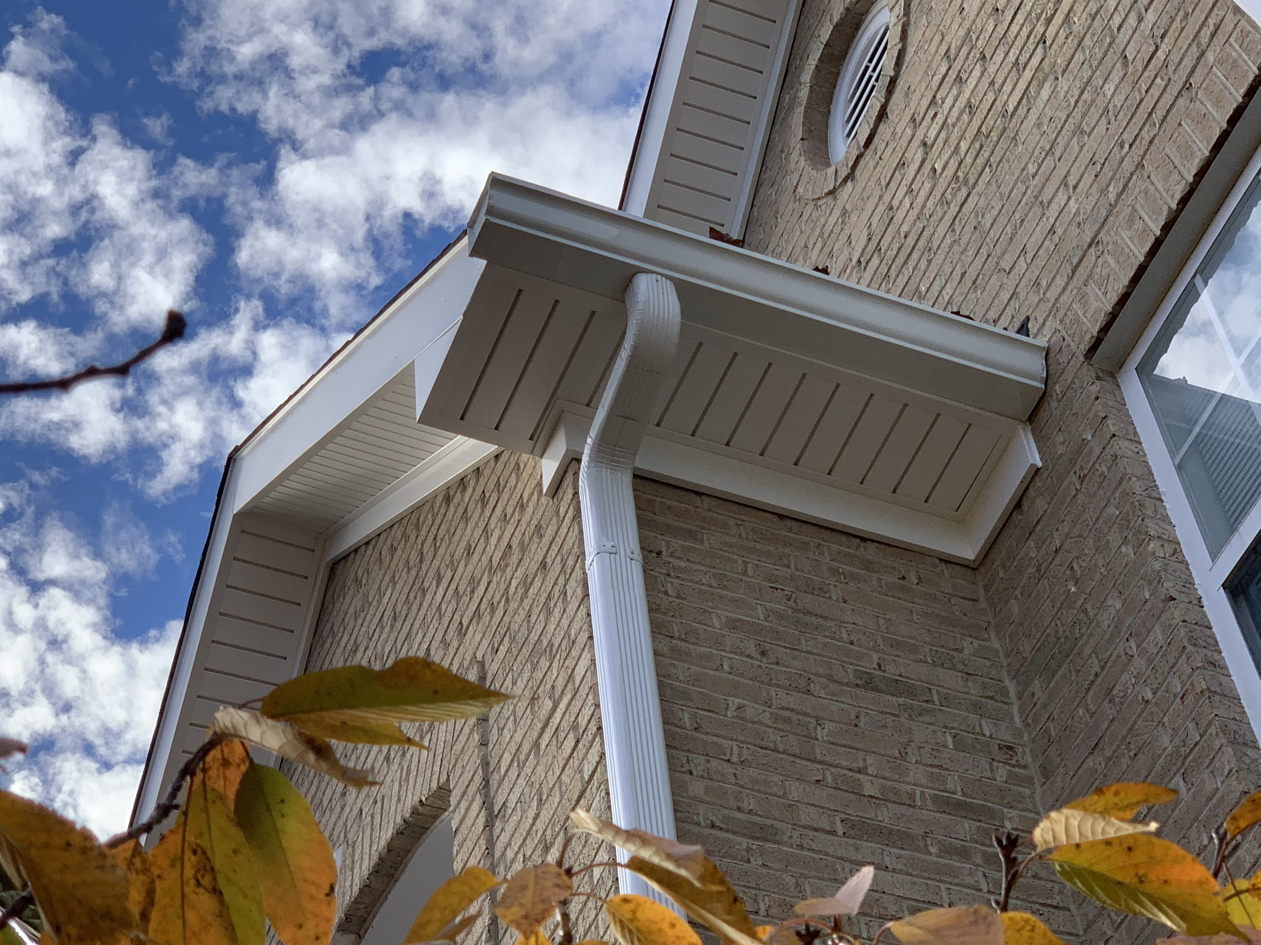 These gutters guarantee safety from damaging rainfall!