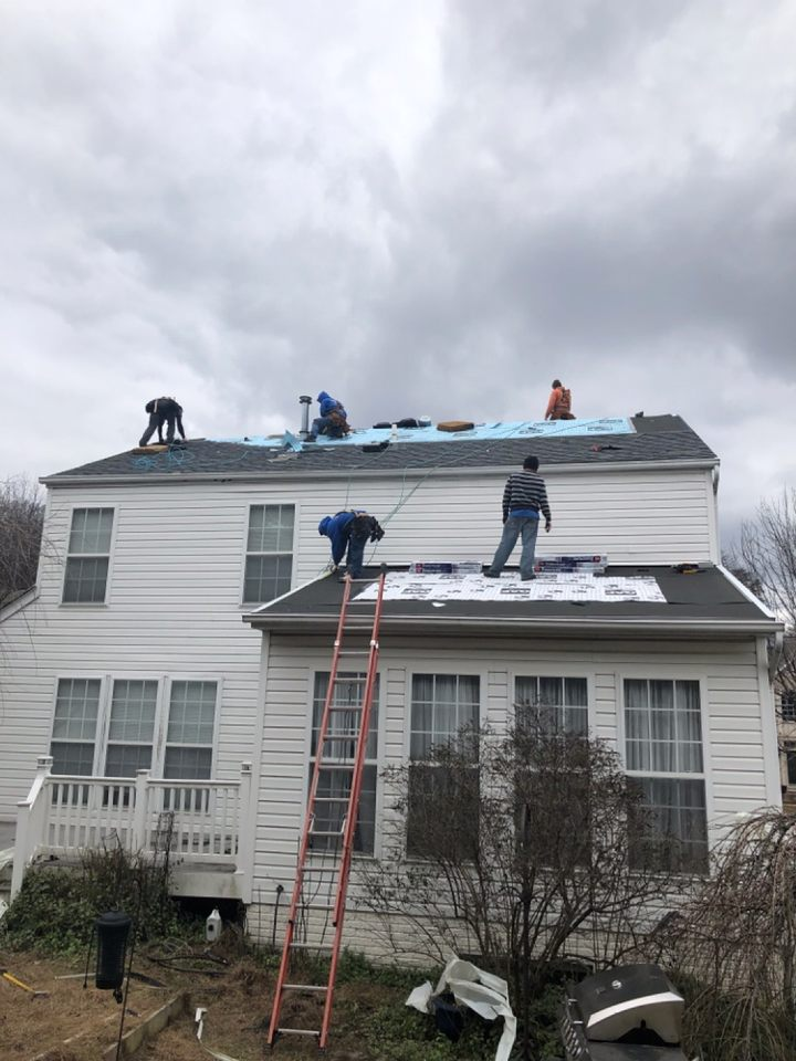 Roofing is by no means an easy job!