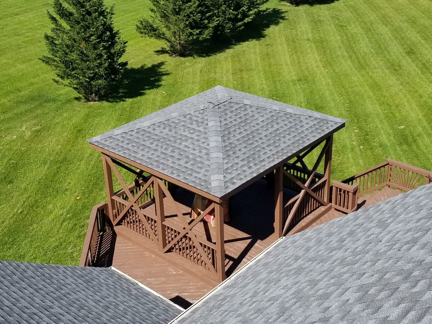 Pewter Gray Roof