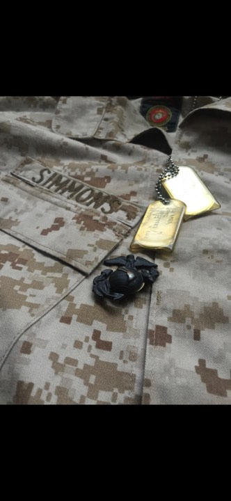 Cody is a proud Marine Veteran!
