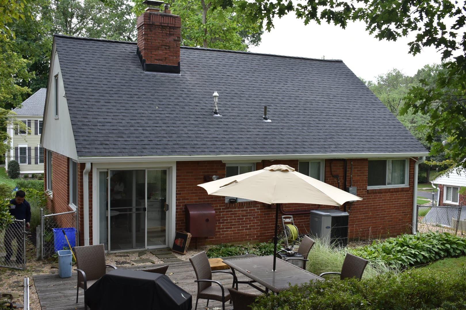 charcoal roof