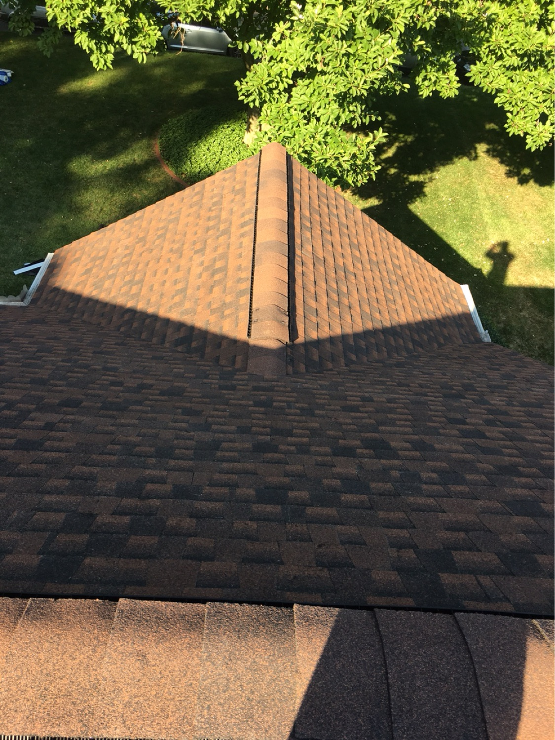 Hickory   Your roof will capture the authenticity of wood.