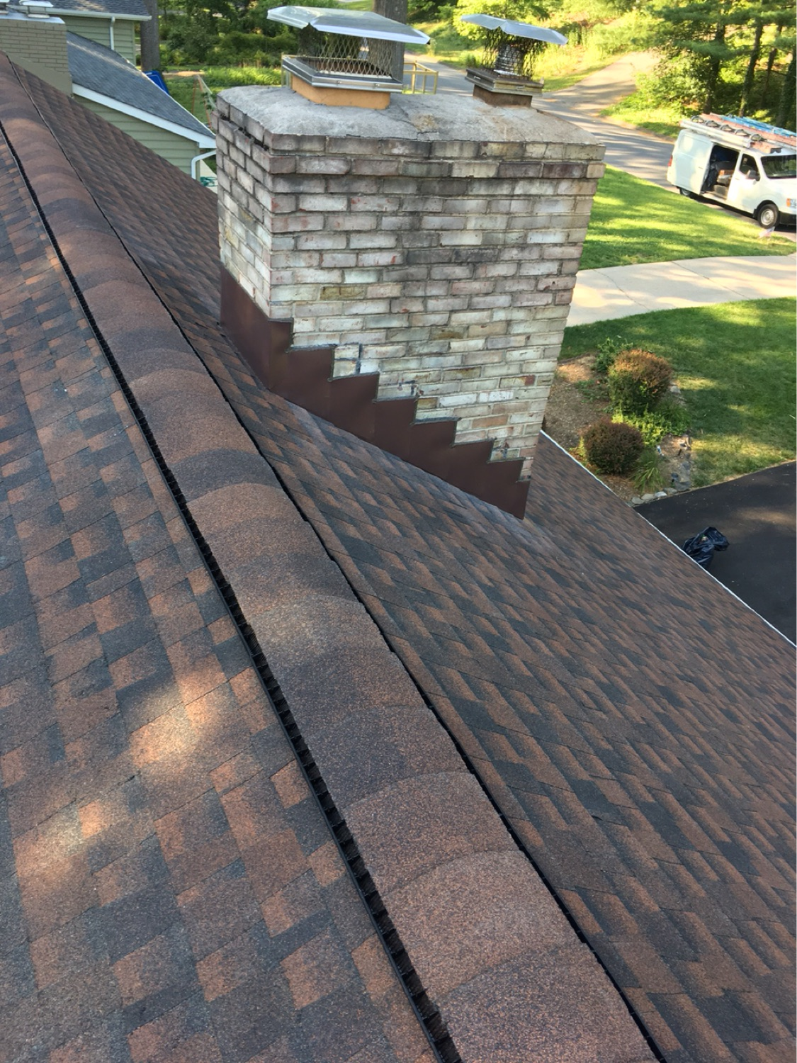 hickory roof