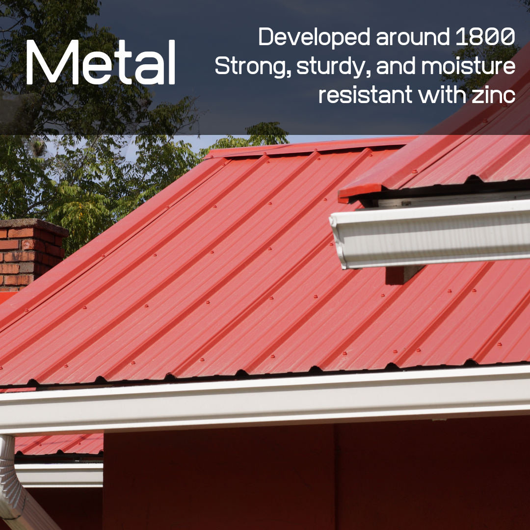Metal roofing marks the beginning of the modern roofing era!
