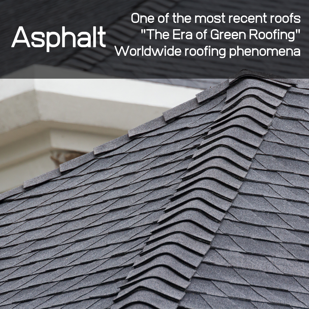 Multiple ways to save energy on your home in this era - one way being through asphalt roofing.
