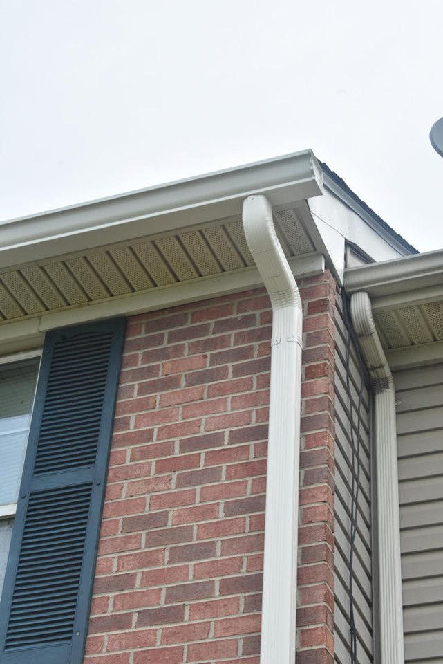 Be mindful of your home's drainage - make sure you have gutters meant to handling storms!