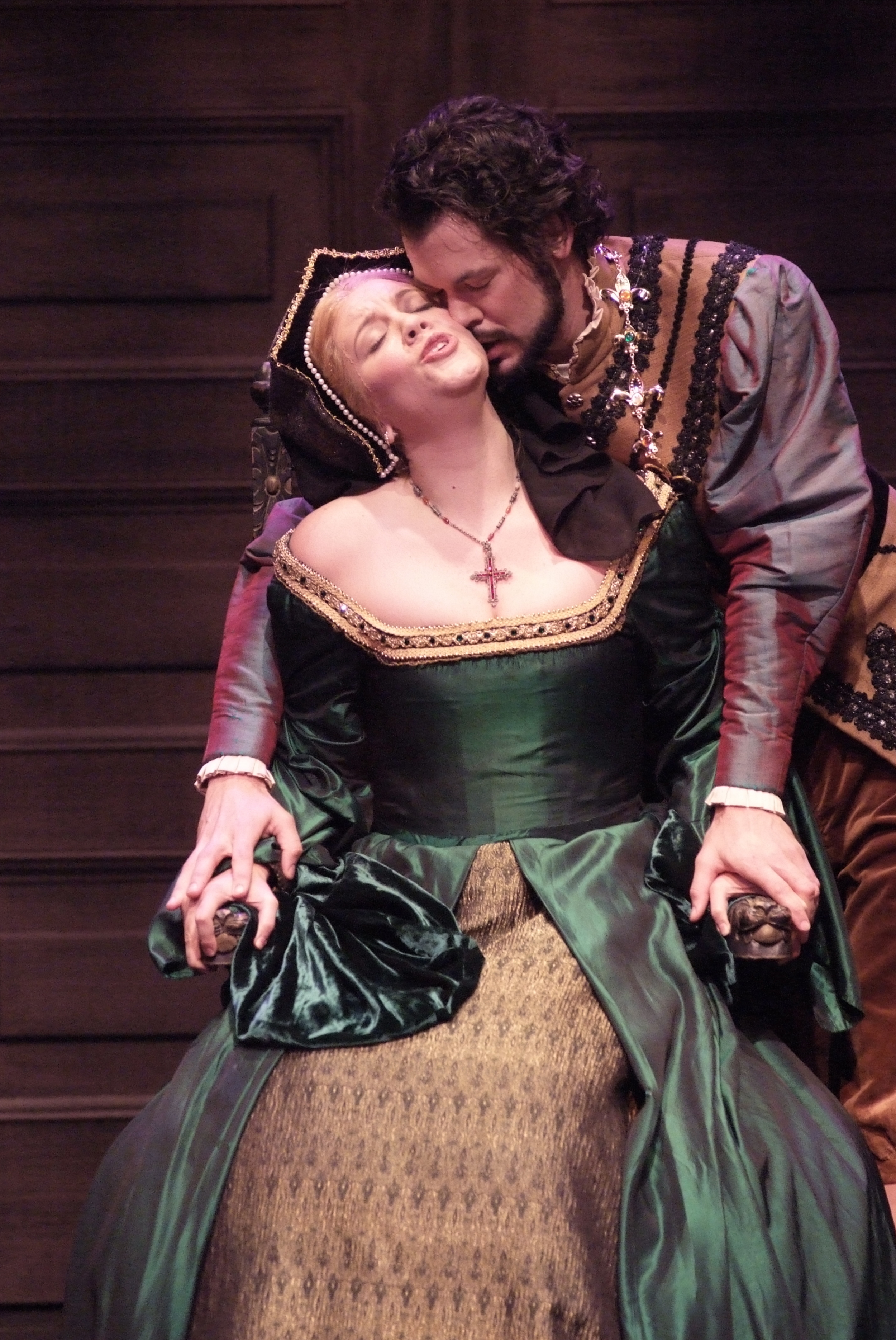 As Giovanna Seymour in  Anna Bolena  with Ben Wager at AVA