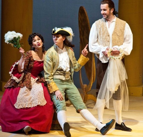 As Cherubino at Annapolis Opera