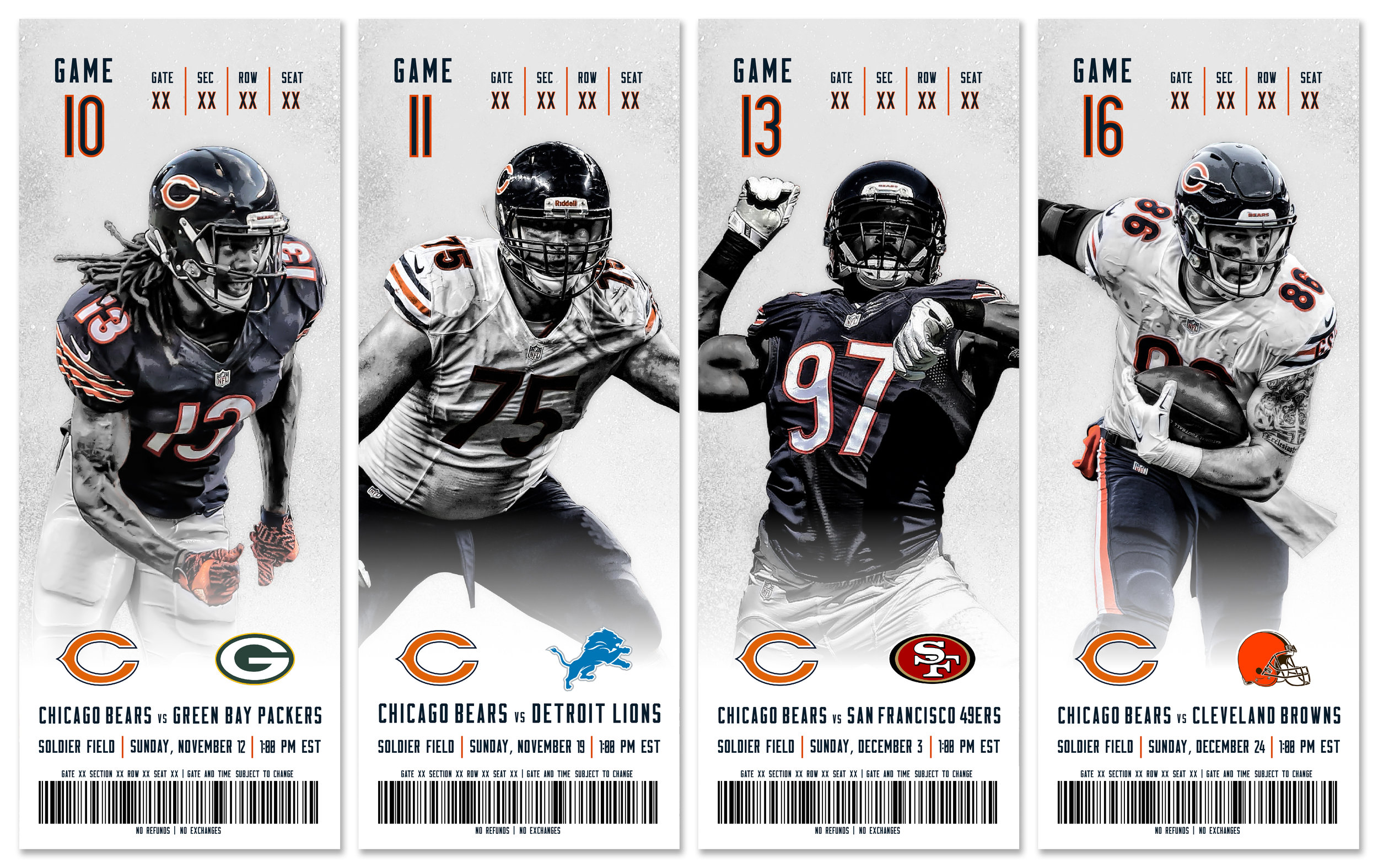 Chicago Bears Season Tickets Alex Thomas