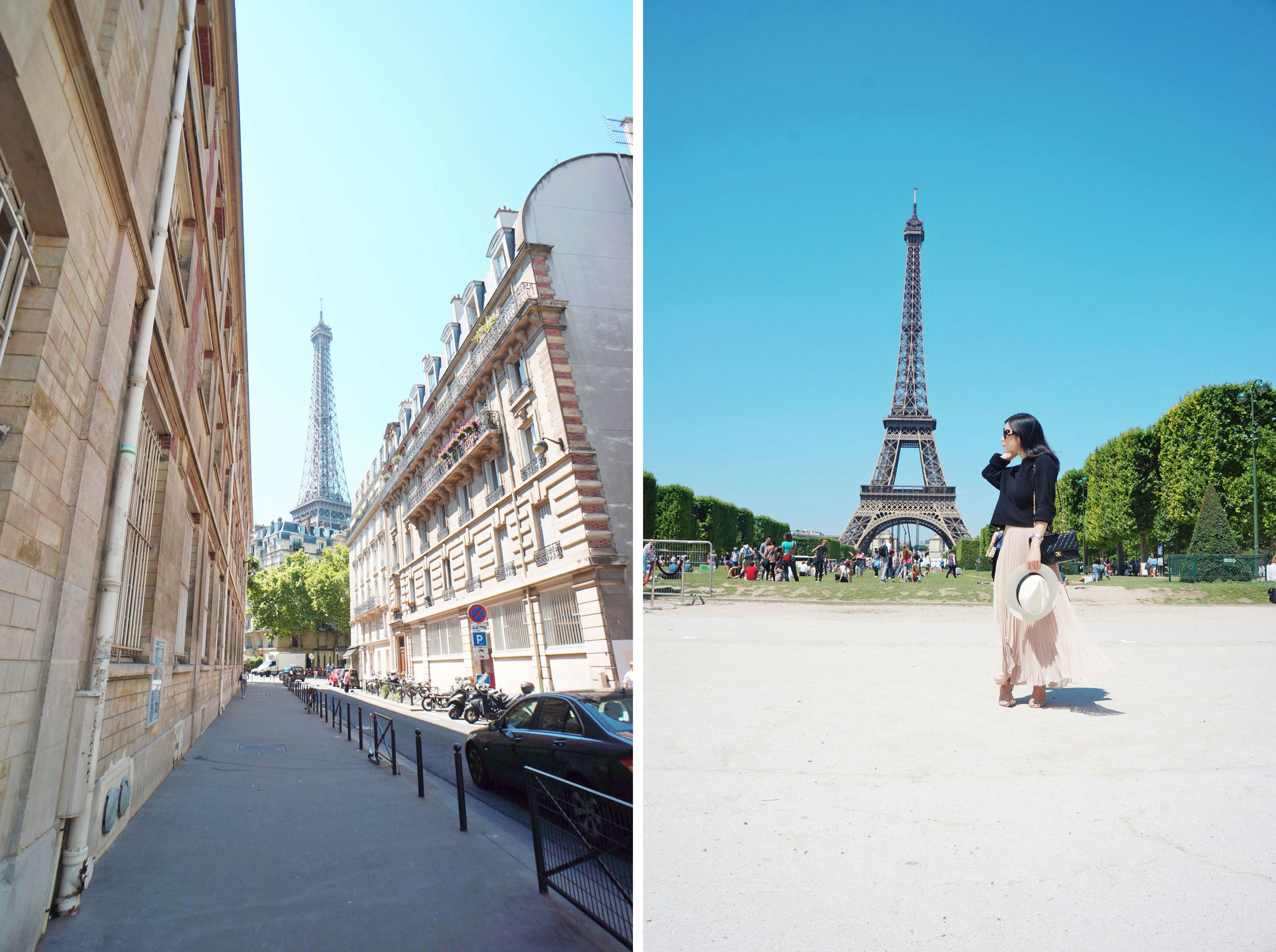 Beautiful from every angle! Seriously, these are only a few images of the Eiffel Tower from this trip.