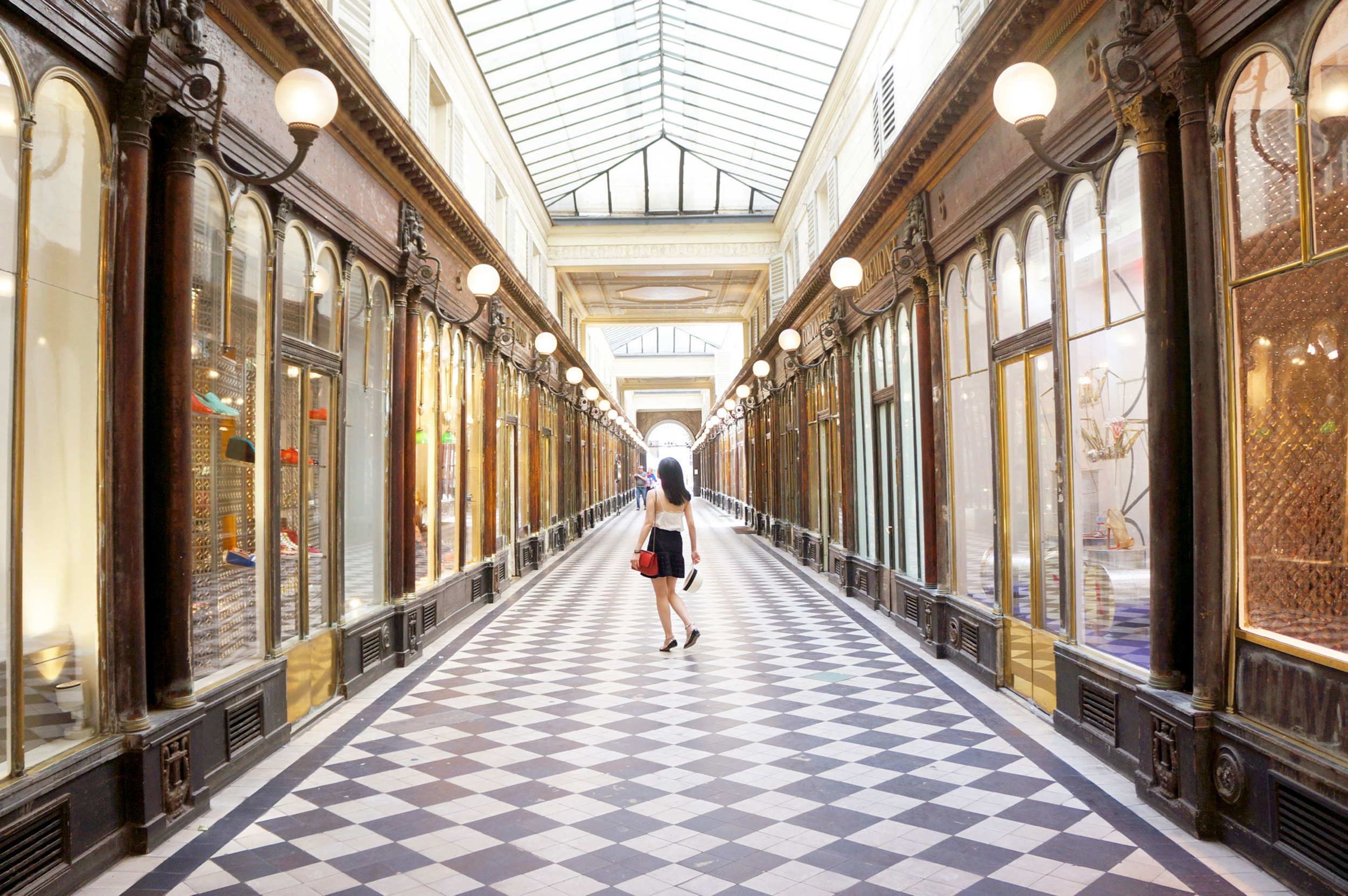 Getting lost pays off - wandering around led us to this beautiful arcade.