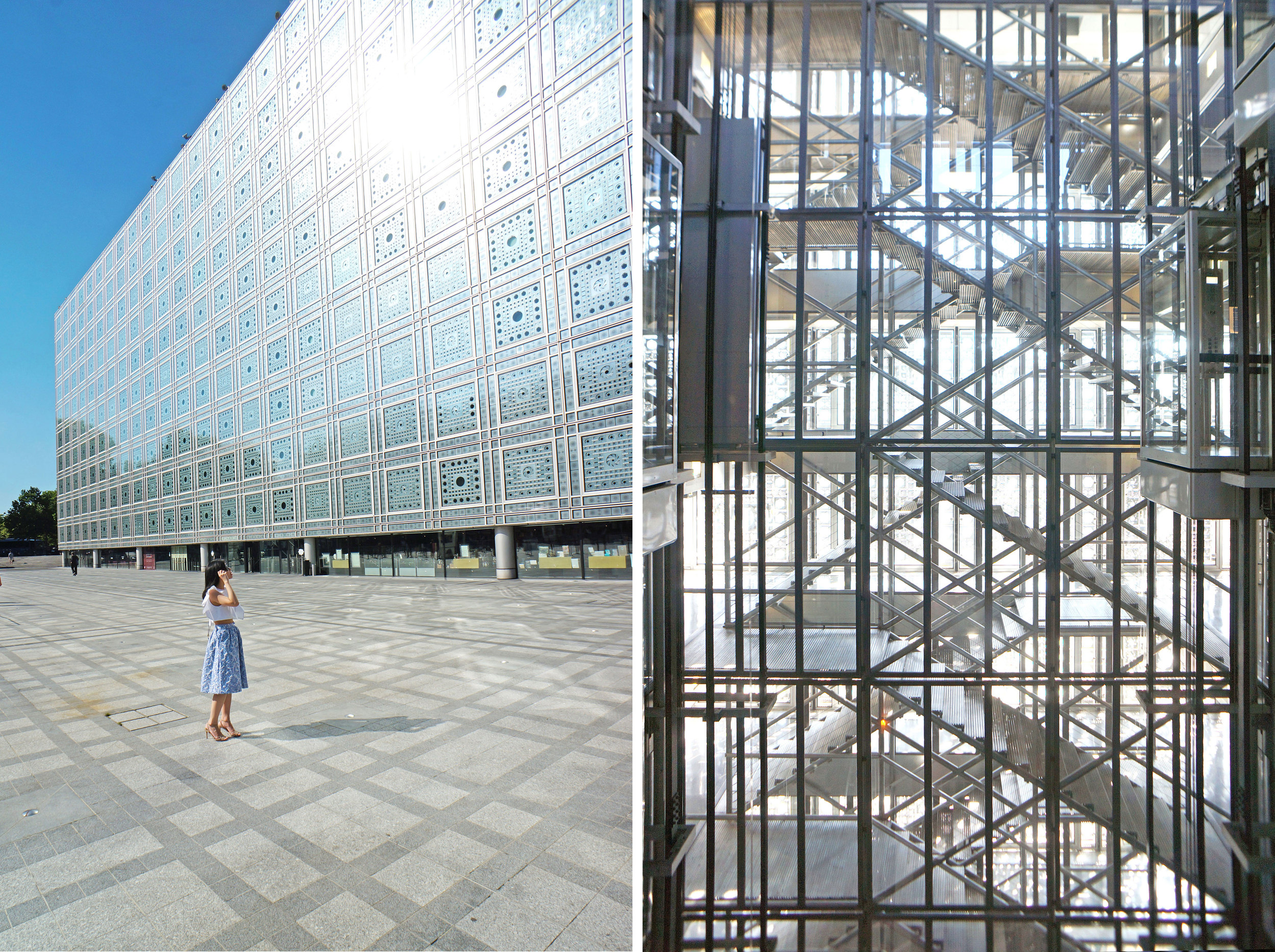 """Institut du Monde Arabe -  When the man at the desk told us that all the exhibits were closing and that there is """"nothing to see"""", we respectfully disagreed."""