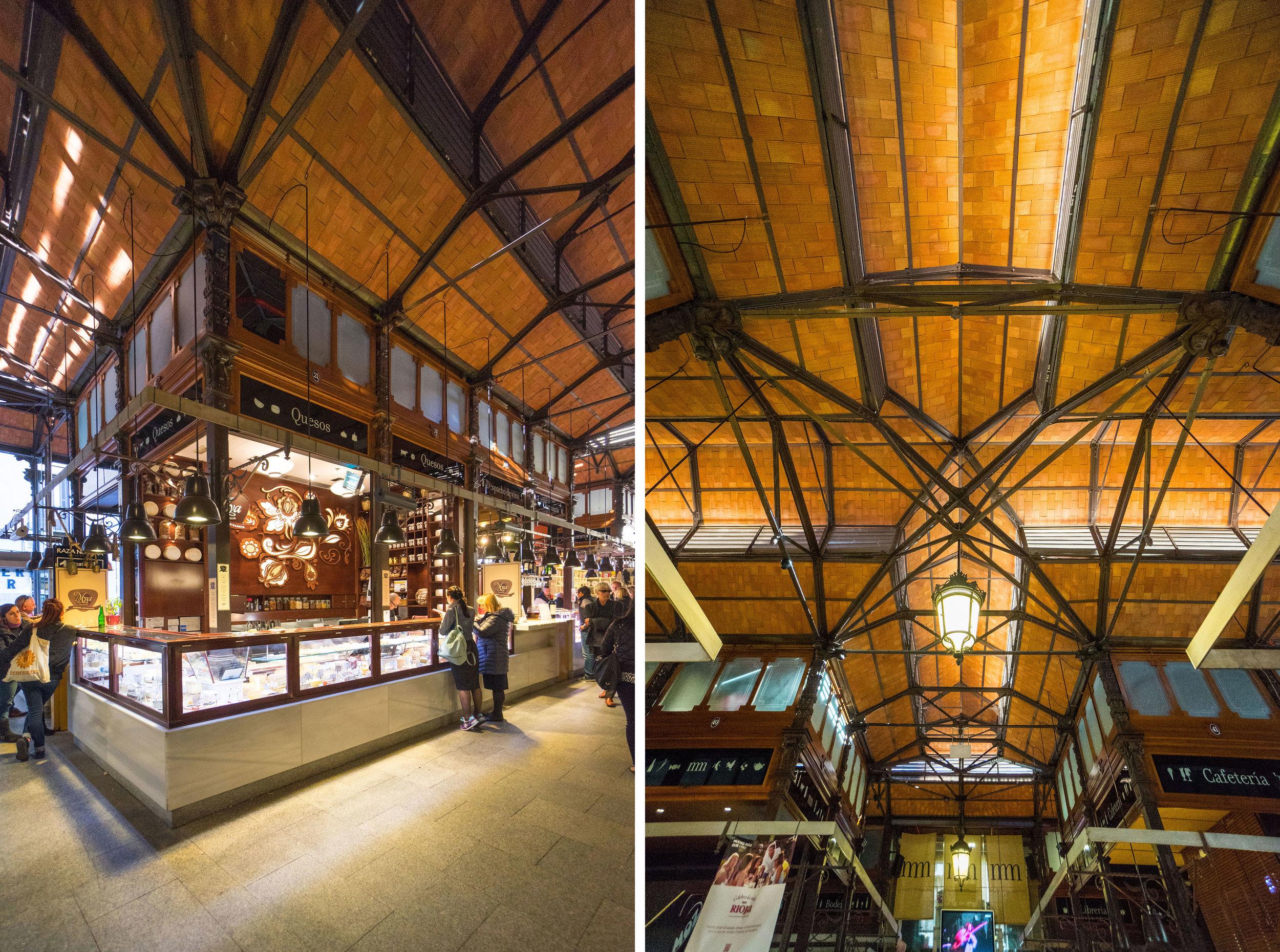 Mercado de San Miguel  - such a great example of restoring a historic space!