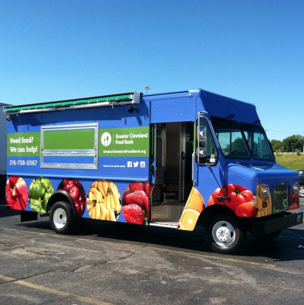 Greater Cleveland Food Bank Help Truck