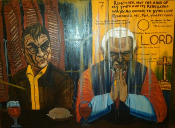 Francis Bacon and Pope Benedict Sit Down in Communion