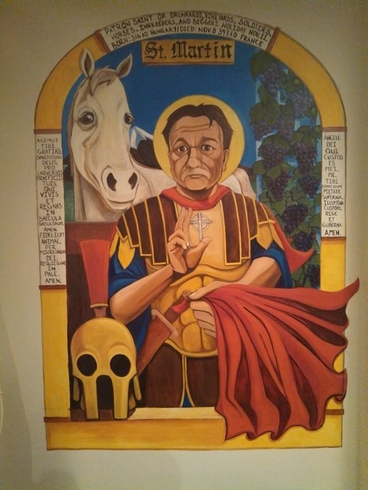 St. Martin of Tours - Unc's Patio, back bar, Auburn, Ohio