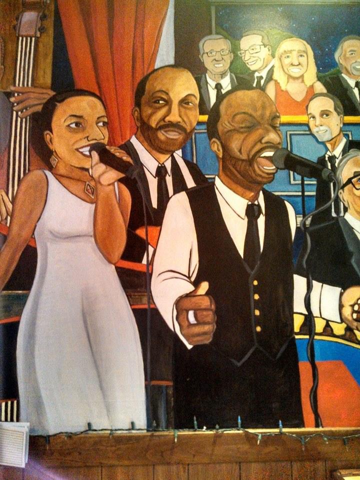 Bar Mural 2 - Unc's Patio, Auburn, Ohio