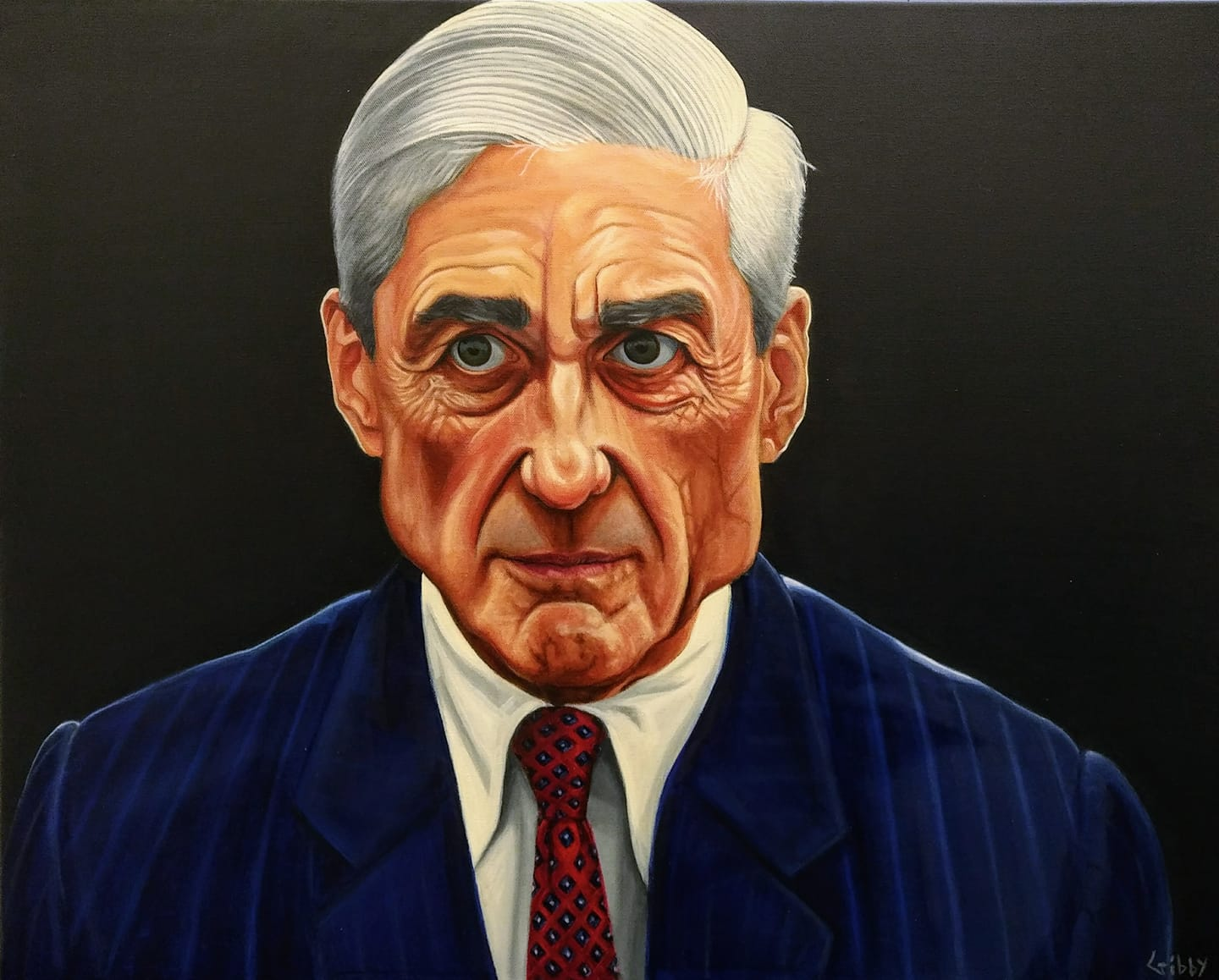 "Portrait of Robert Swan Mueller III (""Bobby Three Sticks"")"