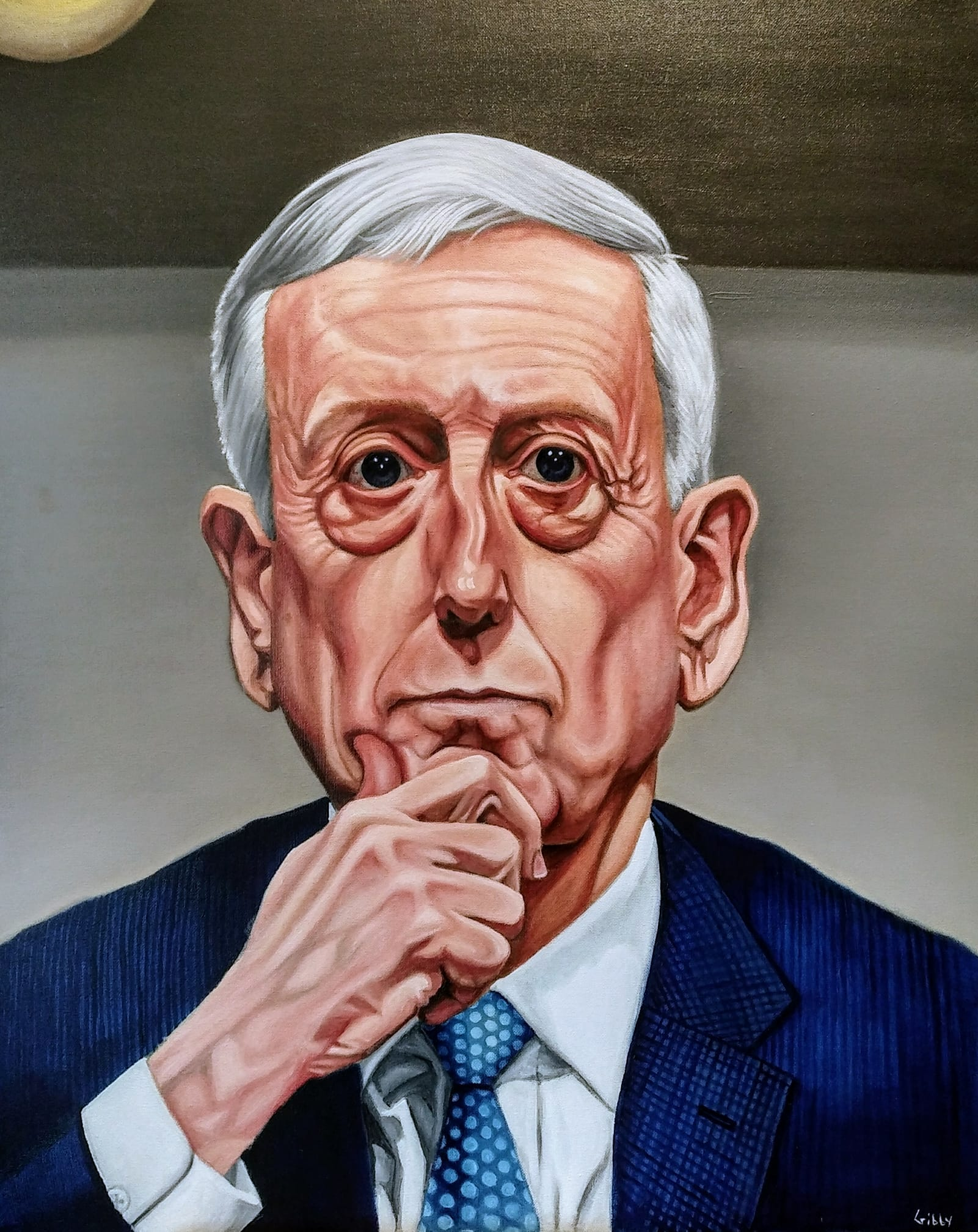 "Portrait of James Norman Mattis (""When the Abyss Stares Back"")"