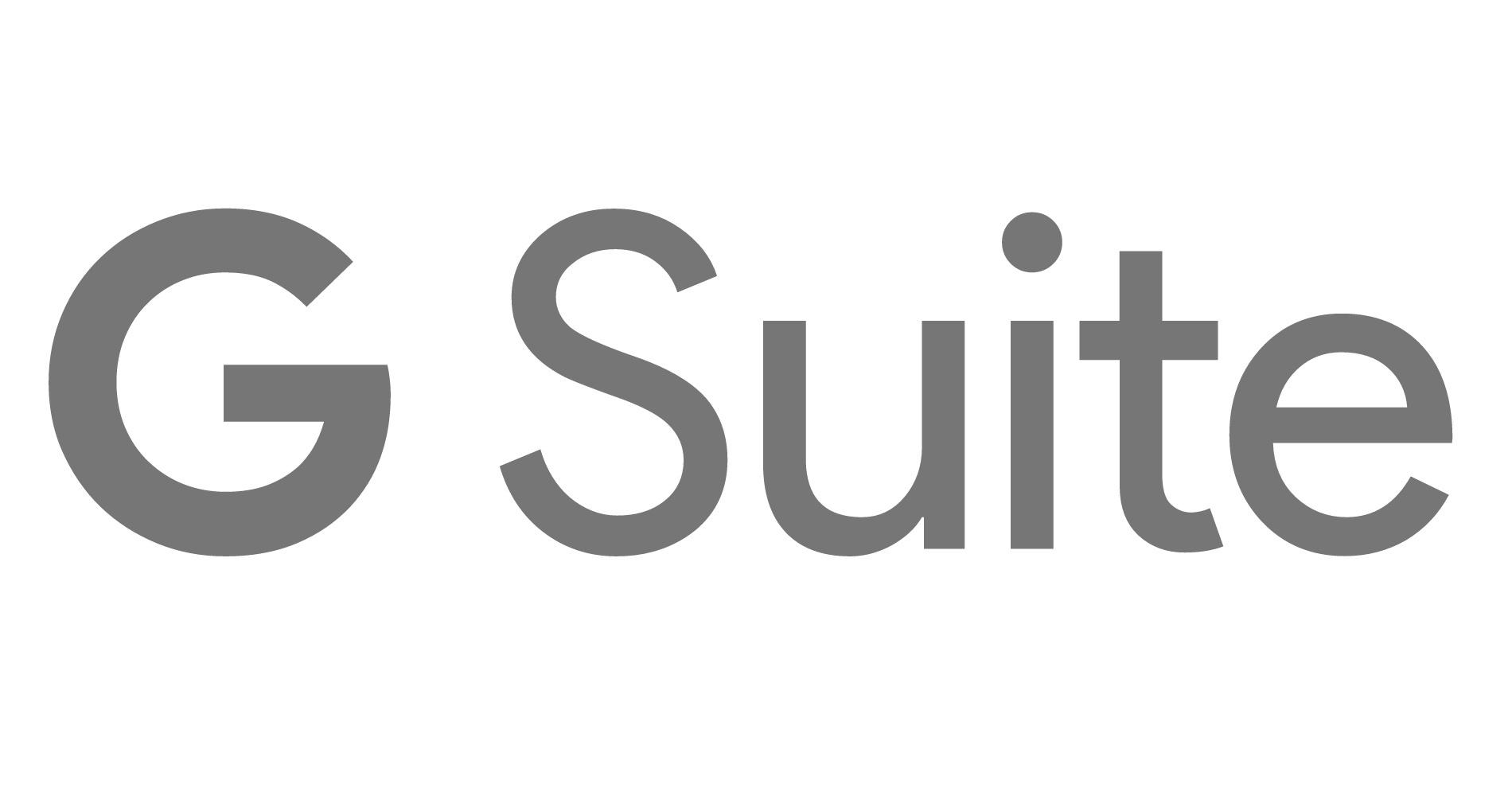 G Suite Logo courtesy of Google