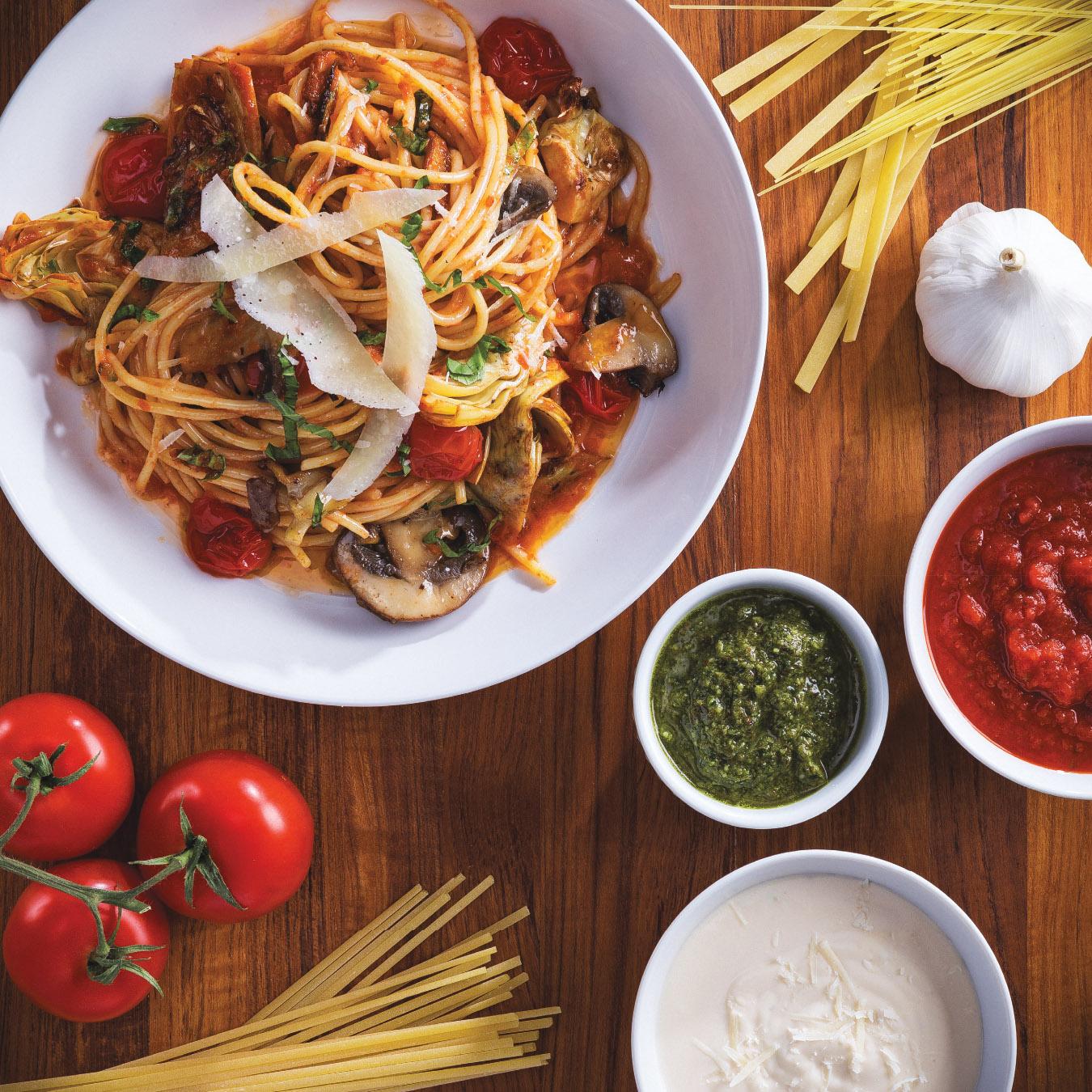 Content Marketing Spaghetti