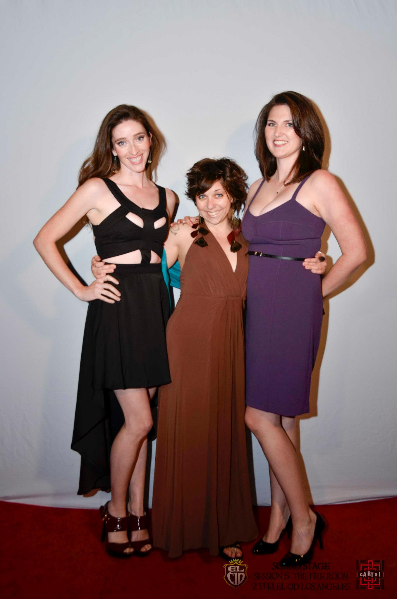 "Red carpet for ""The Fire Room"" with actress Mercedes Manning and director Amanda McRaven"