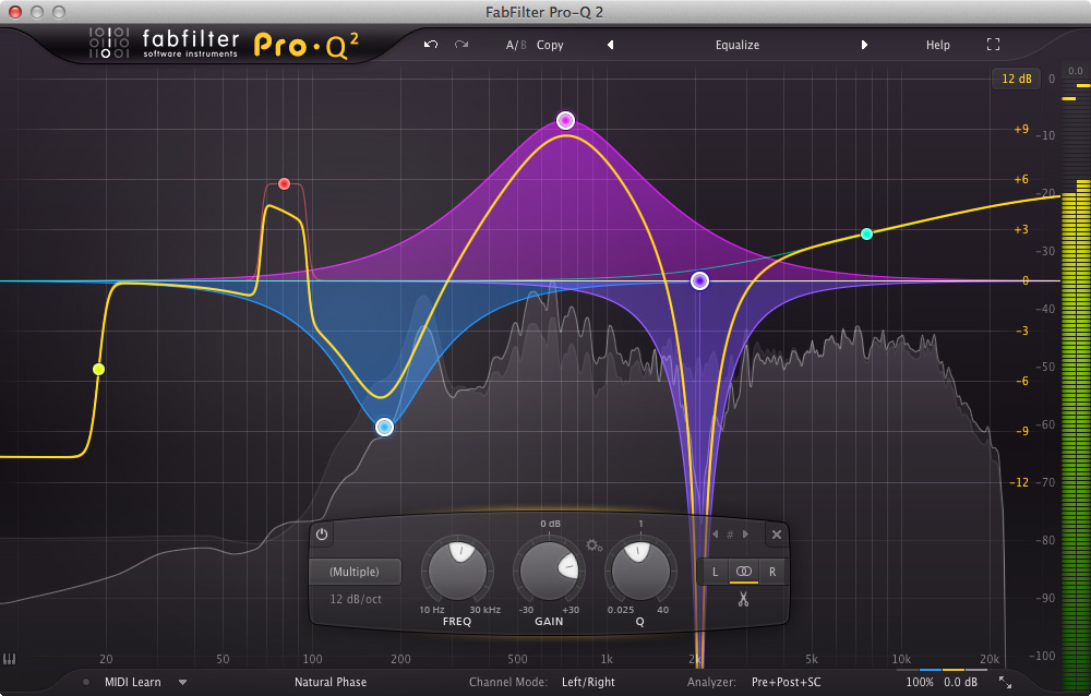 EQ music production lessons