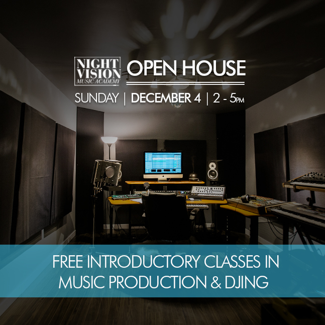 Learn how to produce music in Edmonton
