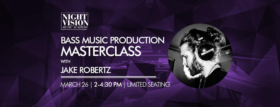 Jake Robertz music production masterclass