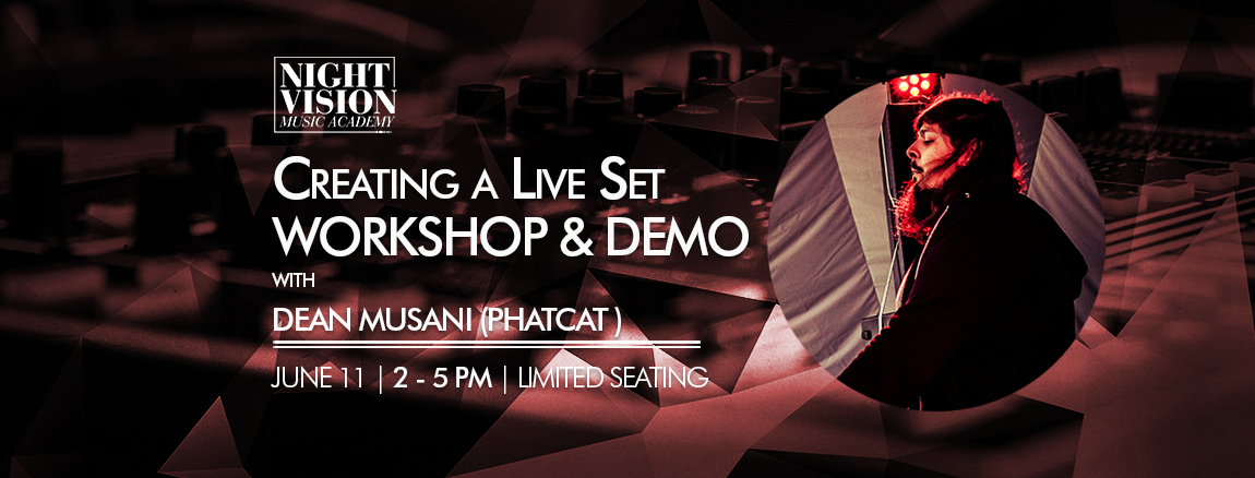 Dean Phatcat - Live electronic music