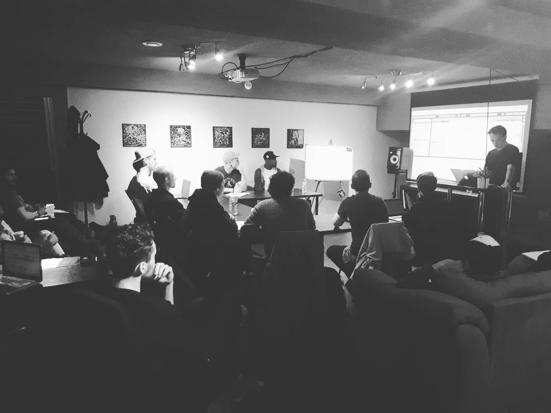 Nick Garcia teaching at the Night Vision Music Academy (May 2017)