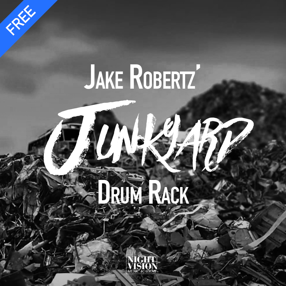 Jake Robertz Junkyard Drum Rack