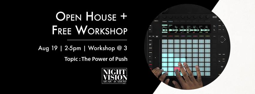 Ableton Push Open House
