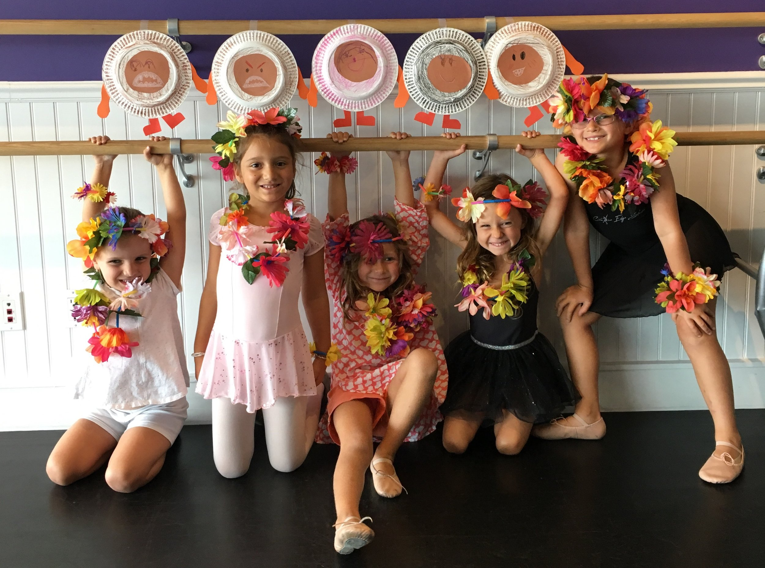 Ages 5 - 8   Session One - Wednesdays 2:30 - 4:00 pm  End of Summer - Monday - Friday | 11:00- 12:45 pm