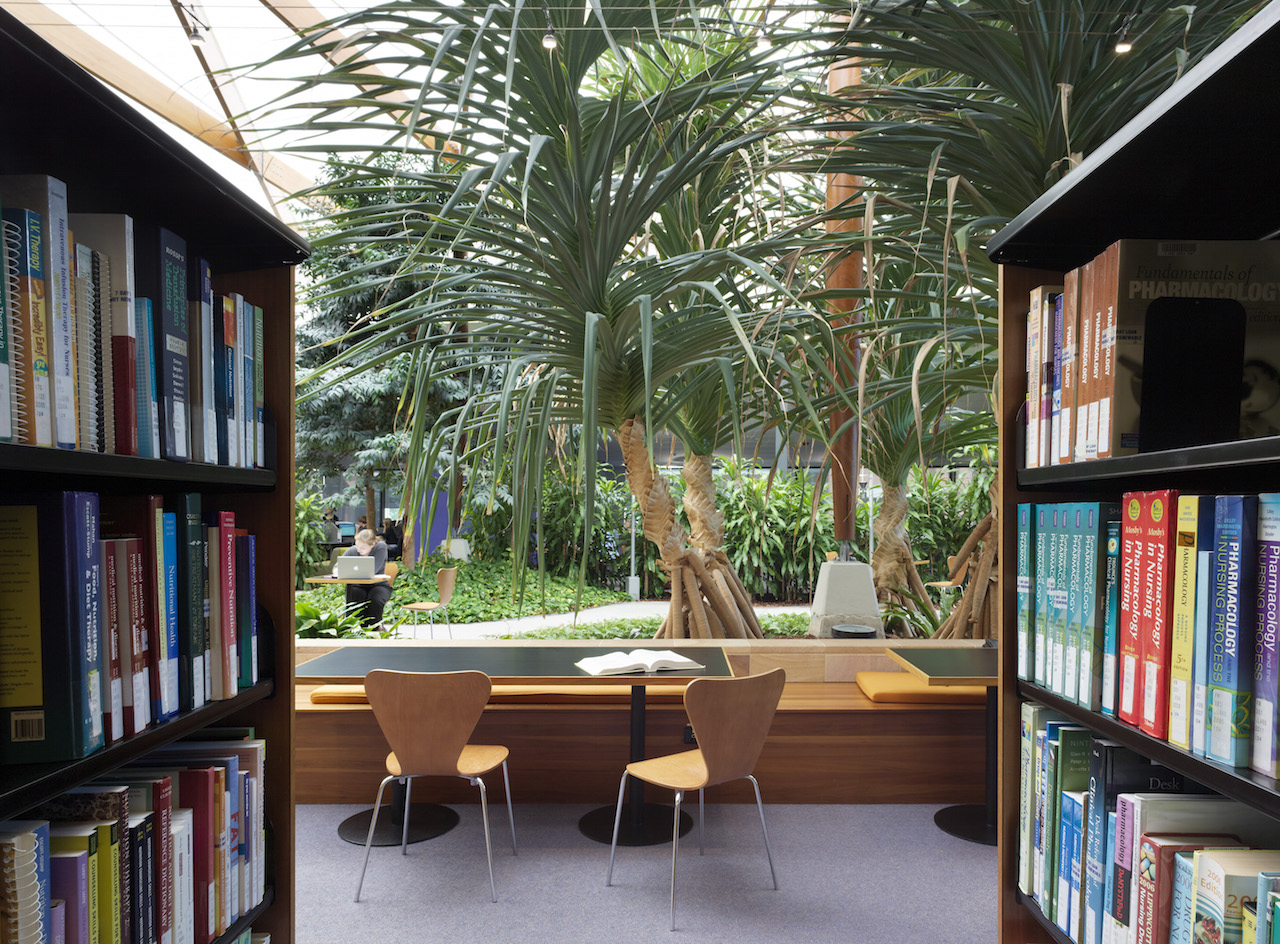 Architecture & Design  - Libraries without walls: when students become the core design consideration