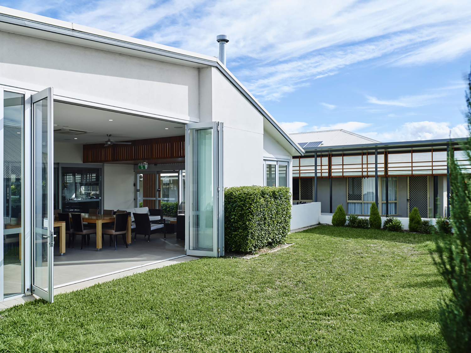 Putting the institution back into Aged Care; Architecture & Design