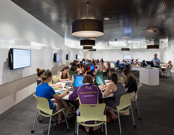TEAL classroom for up to 72 students.