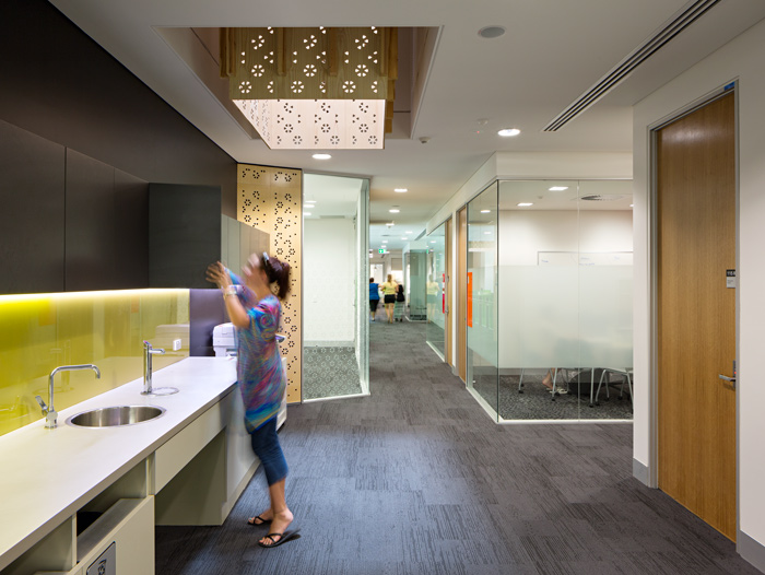 Academic office suites consist of 8 offices and 8 open plan spaces.