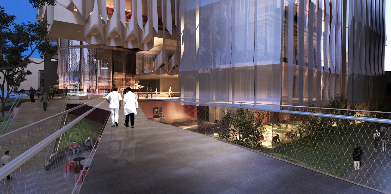 Visualisation by John Wardle Architects