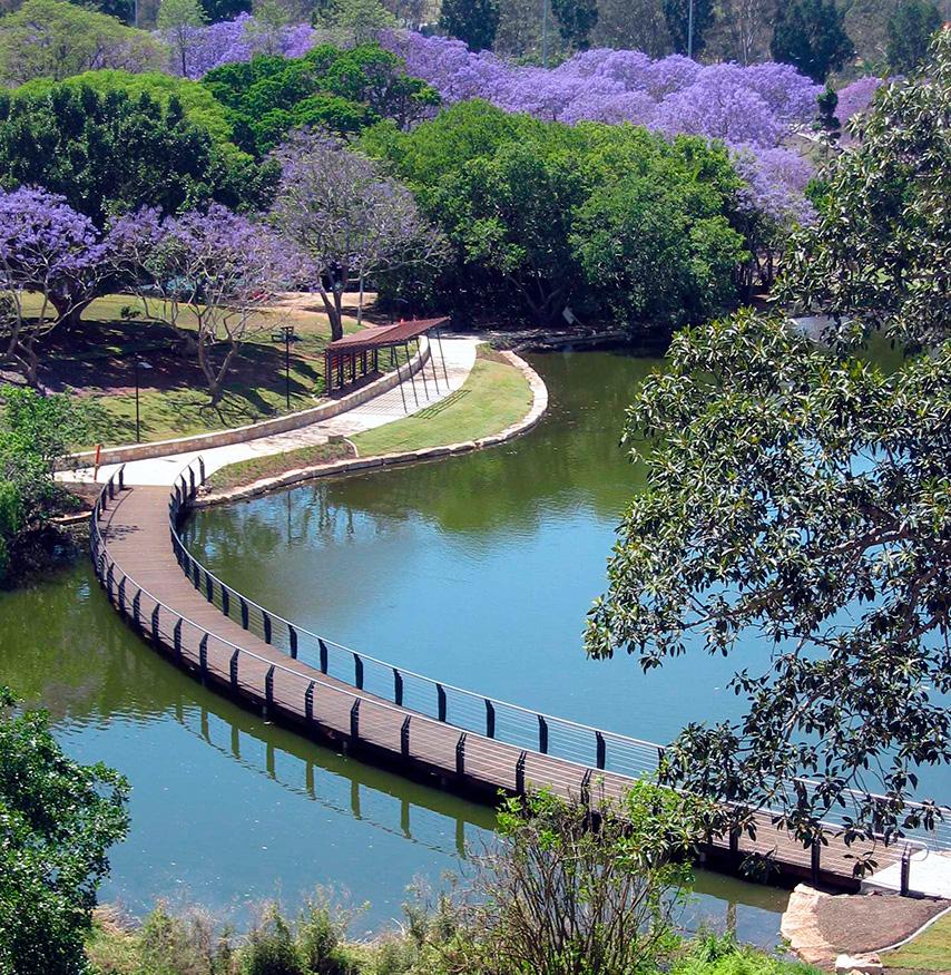 University of Queensland Lakeside Walk
