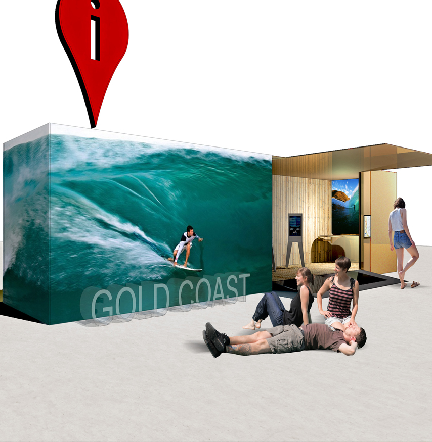 Gold Coast Visitor Centre & Visitor Information Pods