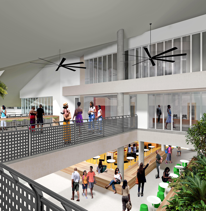 University of South Pacific, Library Masterplan