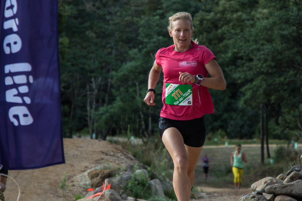 Inaugural Queen of Tassie trails, Launceston's Amy Lamprecht.