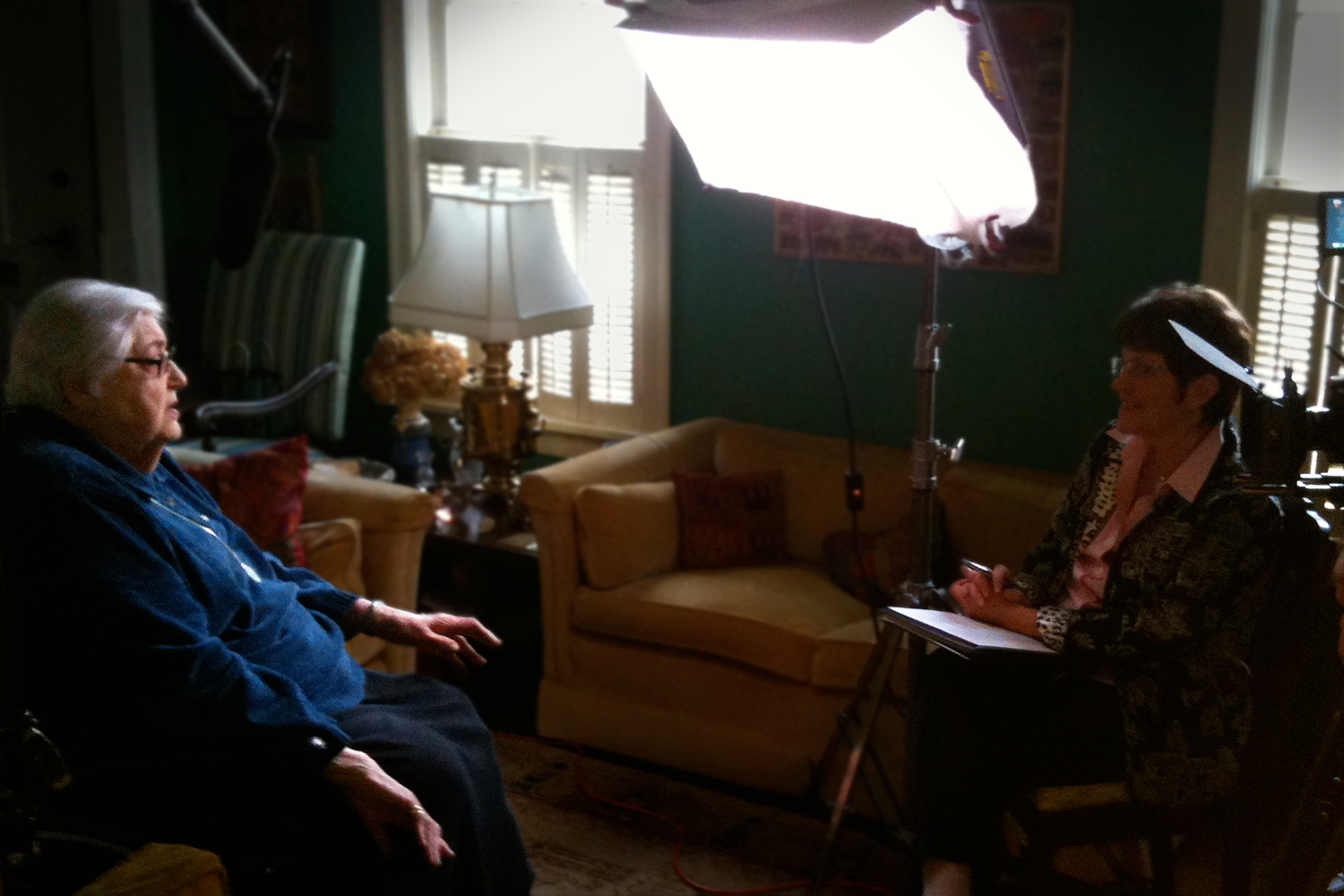 American contralto Florence Kopleff (1924 - 2012) interviewed by Kiki Wilson for the film  Robert Shaw - Man of Many Voices.