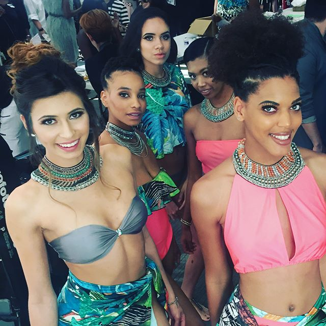 The hardworking year of #fashionschool has came to this- my very first @oceandelsolswim fashion show! I also won the 2nd place award for Pattern Excellence! I couldn't be more proud.  #fashiondesigner #fashion #swimwear #jewelrydesigner #houston #oceandelsol #beachwear #couture #beachbumcandy