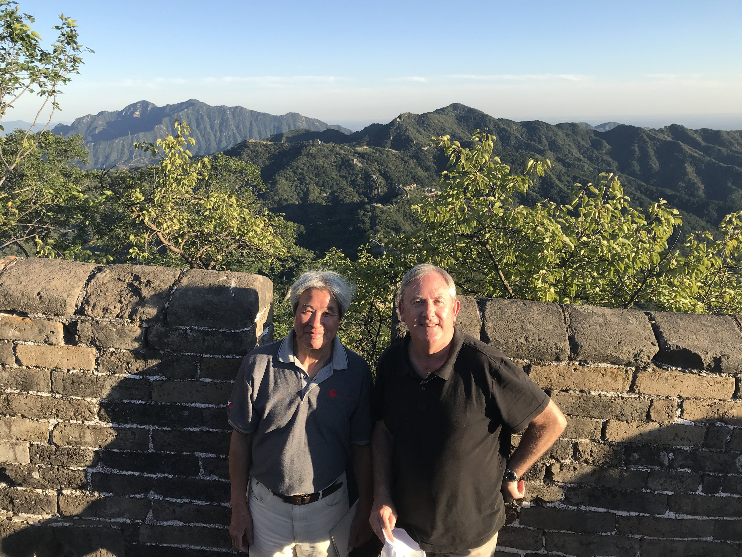 Dr Xisu Wang and David - Great Wall.jpg