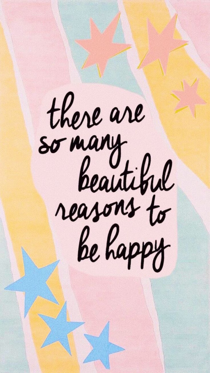 there are so many beautiful reasons to be happy quote love yourself Friday apparel.jpg