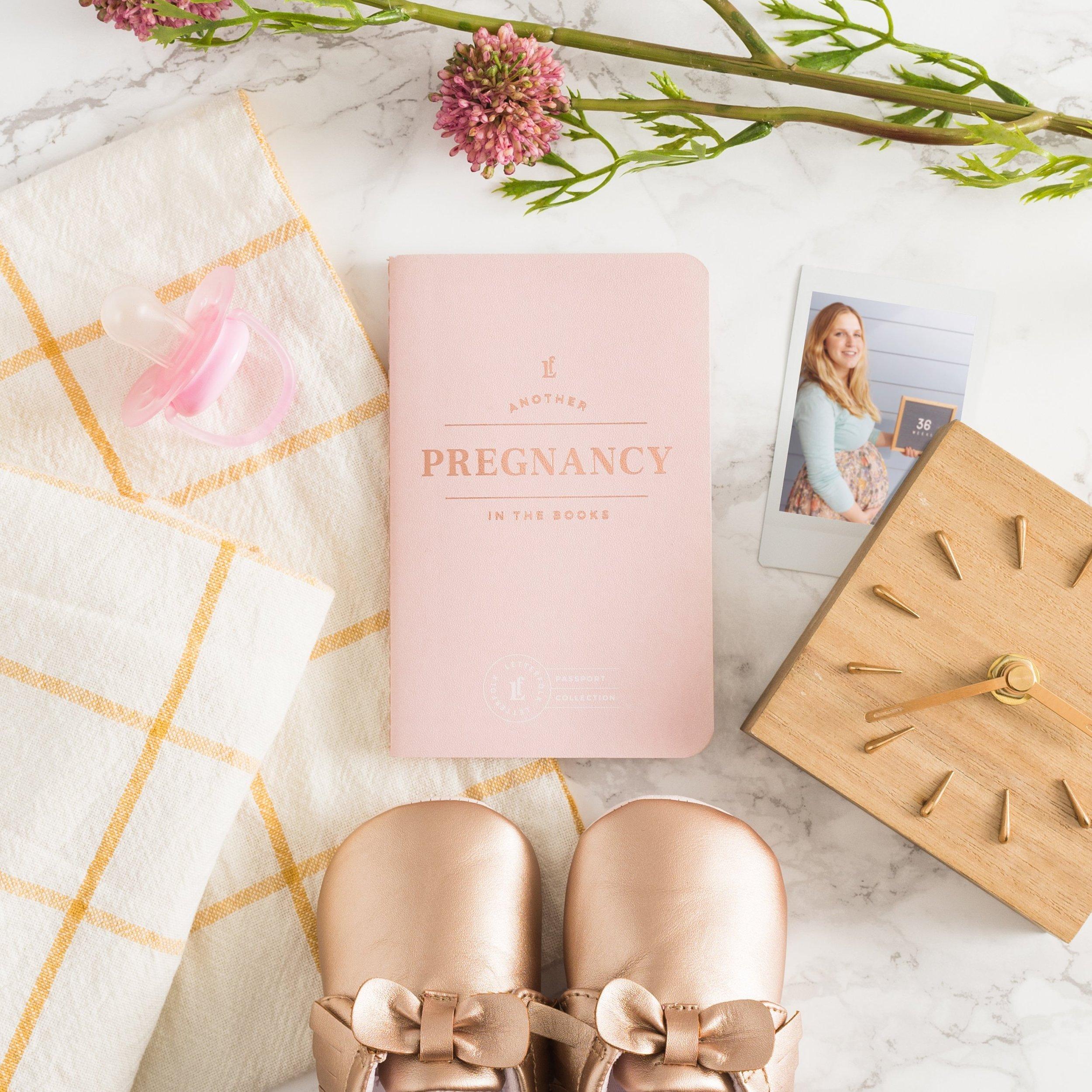 Letterfolk Pregnancy Passport Journal