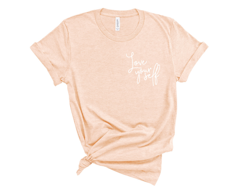 Love Yourself Embroidered Shirt