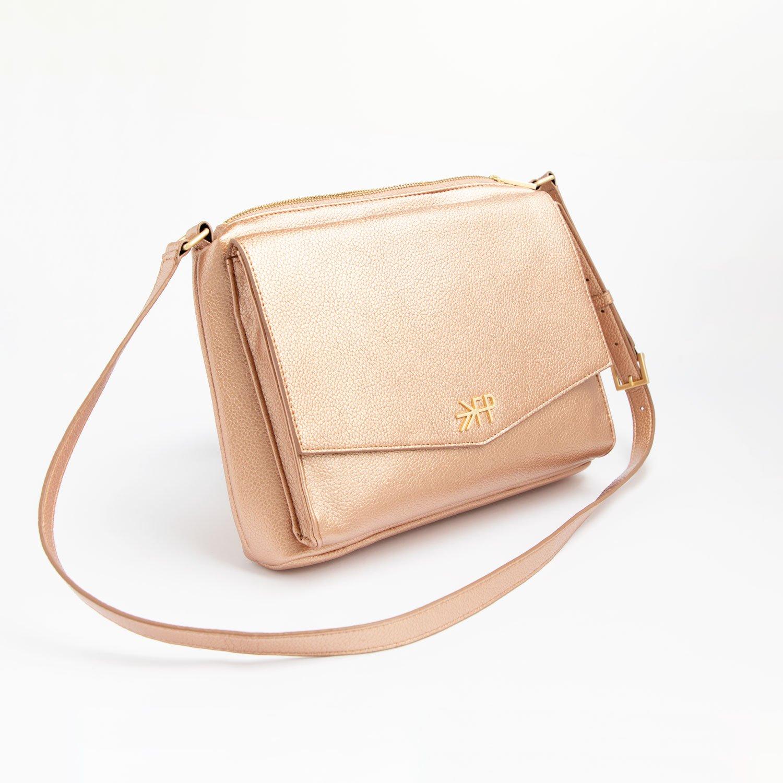 Rose Gold Crossbody Bag